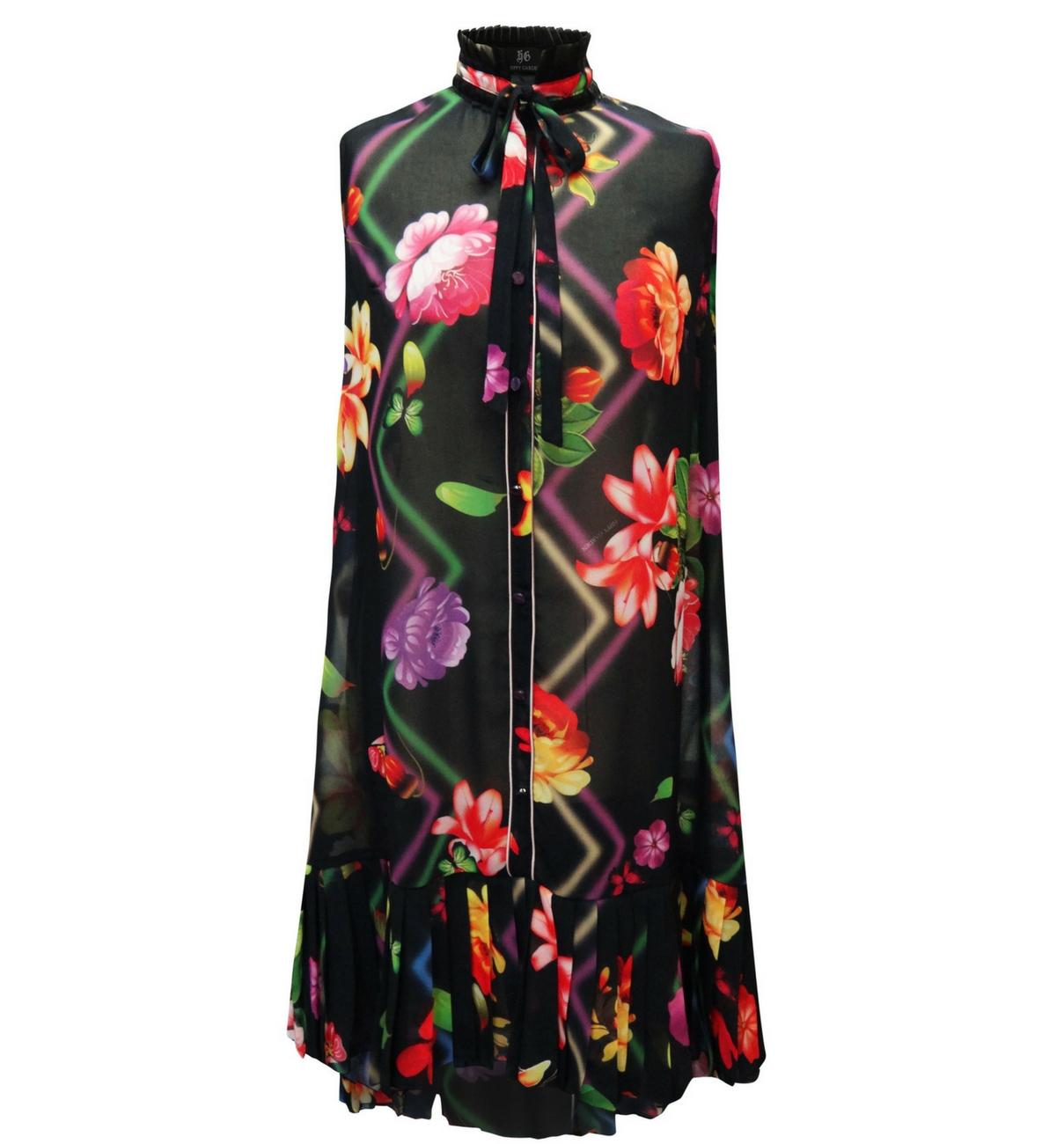 HIPPY GARDEN - FLORAL DRESS - GEENA