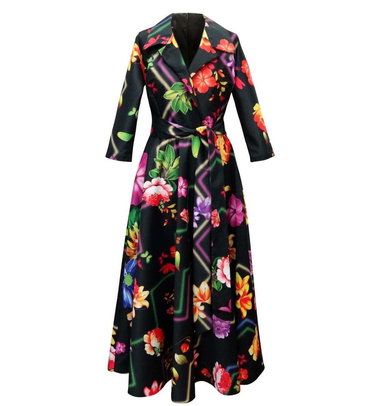 HIPPY GARDEN - FLORAL DRESS - LYNN