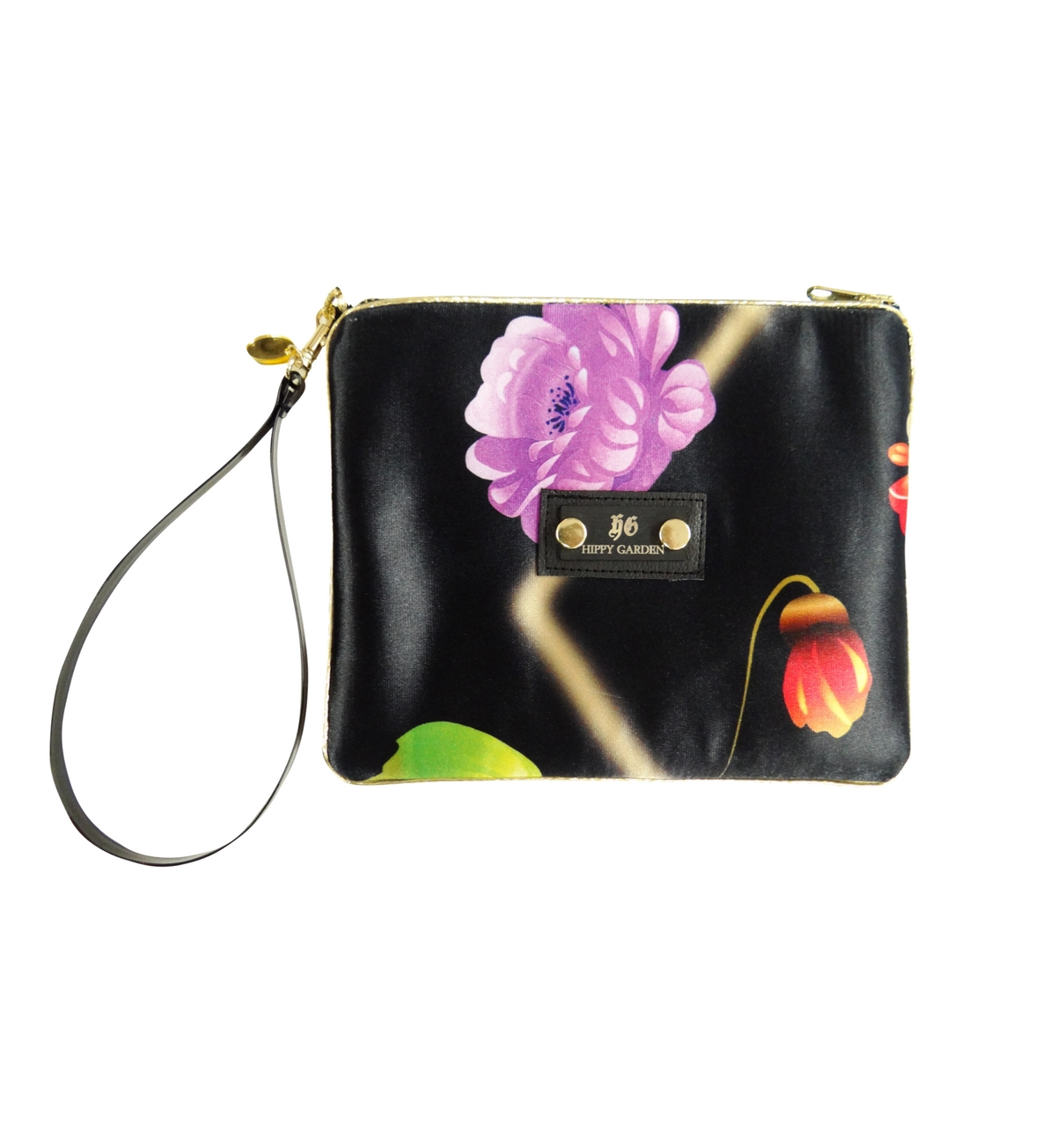 JOY FREQUENCY SCENTED CLUTCH BAG - BLACK