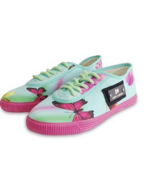 HIPPY GARDEN - JOY FREQUENCY SNEAKERS - Turquoise