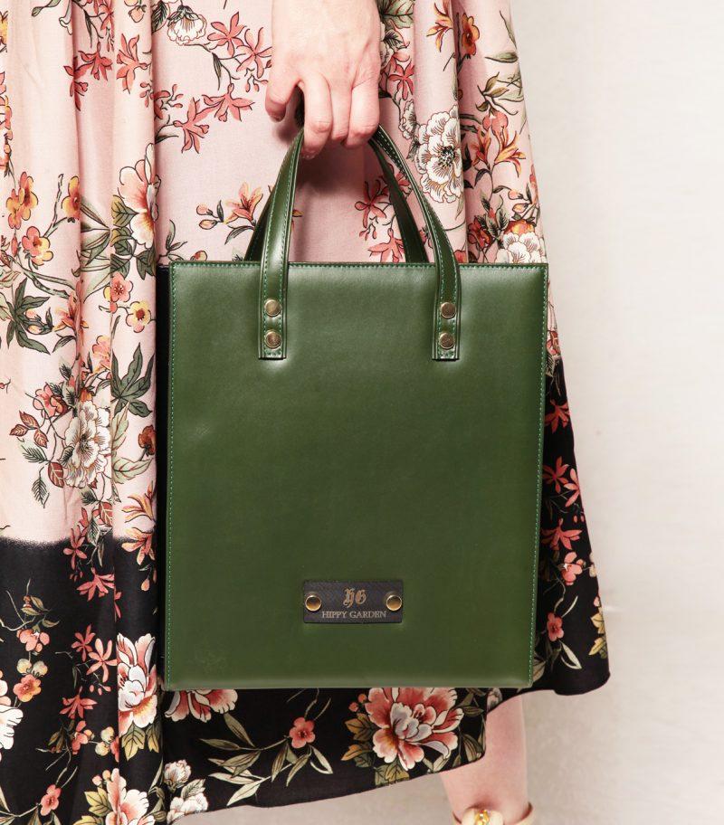 HIPPY GARDEN - GREEN MODULAR BAG